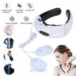 6 Modes Electric Pulse Neck Massager Magnetic Therapy Verteb