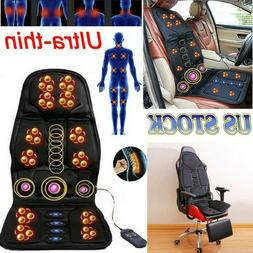 8 Mode Massage Car Seat Cushion Back Relief Chair Pad Heated