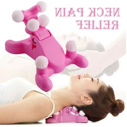 Cervical Pillow Neck And Head Pain Relief Massage Traction D
