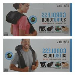 Homedics Cordless 3D Trutouch Neck & Shoulder Massager With