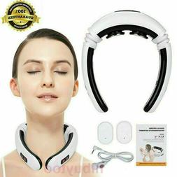 Electric Tens Unit Pulse Neck Massager Magnetic Pulse Therap