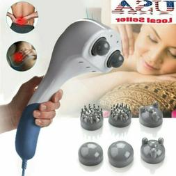 Full Body Electric Handheld Massager Wand Back Neck Percussi