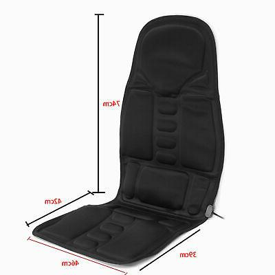 8 Mode Seat Cushion Neck Massager Chair Home