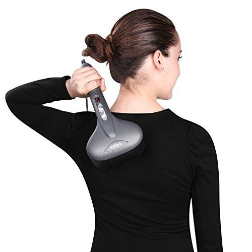 Naipo Handheld Massager Head with Function and Variable for Back Arm Leg Relief