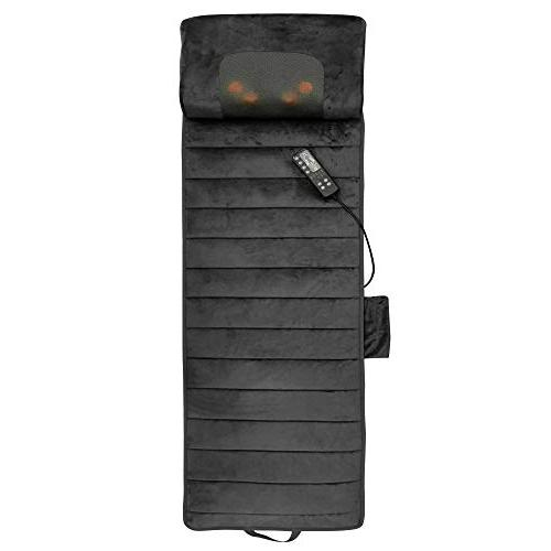 Full Body with Neck Vibrating Pad Relieves Stress, in and Shoulder