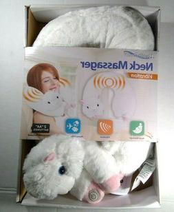 Health Touch Neck Massager Vibrating Plush Llama Adorable So