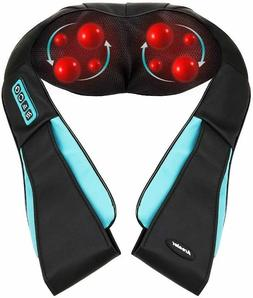 Arealer Neck Massager with Heat, Shiatsu Massager for Neck/S