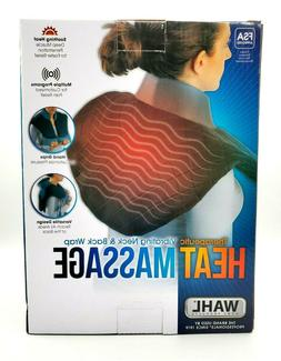 WAHL New Heated Neck and Back Massager Therapeutic Vibrating