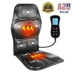 Portable Heating Back Massage Chair Electric Neck Pain Relie