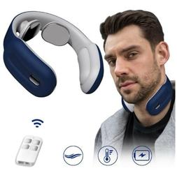 Hunnay Portable Neck Massager with Heat,Cordless Neck Relax