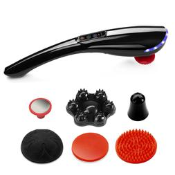 Rechargeable Hand Held Massager Deep Tissue Full Body Shiats