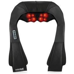 Belmint Shiatsu Back and Neck Massager with Heat and Deep Kn