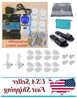 TENS Unit Rechargeable Massager Full Body Neck Back Pain Ach