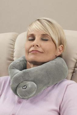 Vibrating Massaging Neck Pillow W/ Wrap Around Feature for M