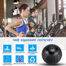 Vibration Massage Ball 4 Speed for Relax Muscles Neck Relief